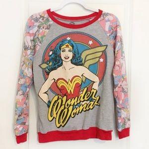 Retro Wonder Woman Sweatshirt